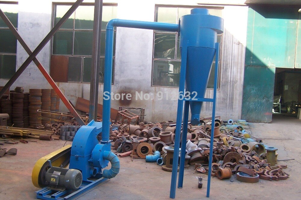 Molino de martillo de 200 kg/h, trituradora de martillo