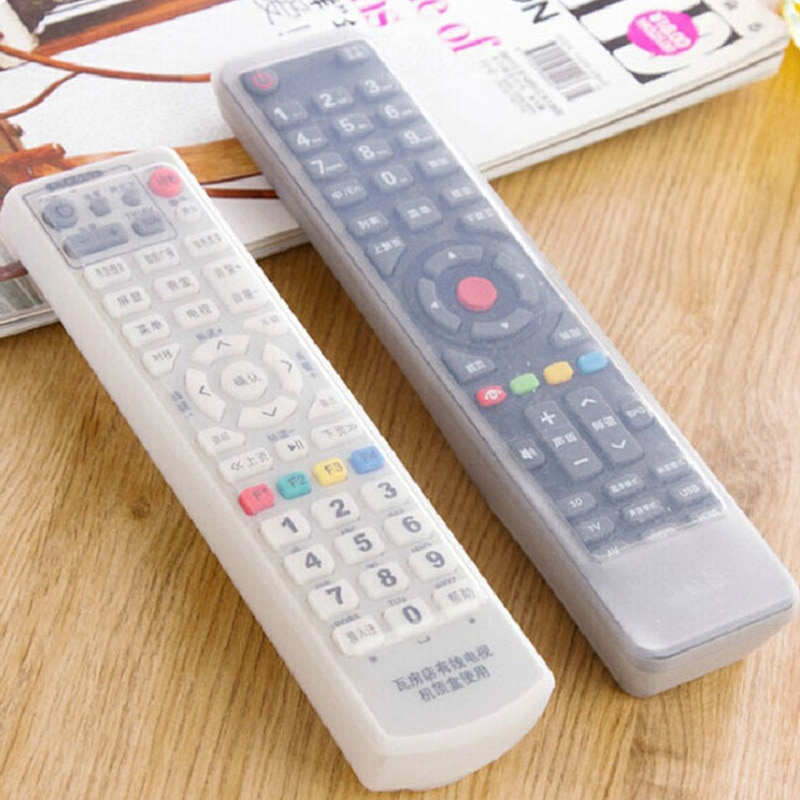 Home Air Conditioning Waterproof Silicone Protection Kits Remote Control Covers TV Remote Control Household Merchandises 1 Pcs