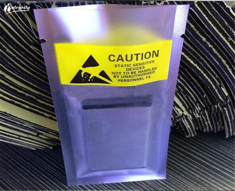 INTEGRITY 1000 Uds 6*11cm bolsa de empaquetado poli antiestática, con tapa abierta, componentes electrónicos, batería, bolsa de embalaje de plástico antiestática