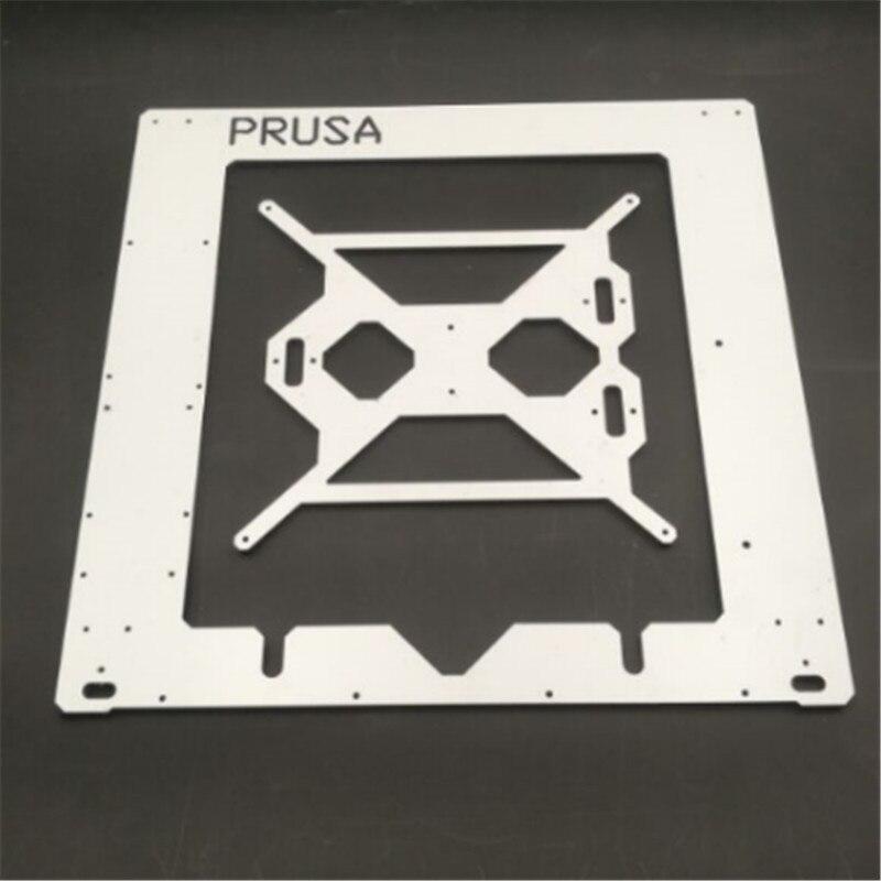 Prusa i3 RepRap 3D drucker dibond aluminium rahmen einzigen 6mm Aluminium composit Melamin Prusa rahmen kit
