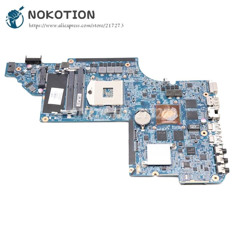 Материнская плата NOKOTION 665343-001 650799-001 для ноутбука HP Pavilion DV6 DV6-6000 HM65 DDR3 HD6770M 1 ГБ GPU