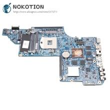 Carte principale NOKOTION 665343-001 650799-001 pour carte mère dordinateur portable HP pavillon DV6 DV6-6000 HM65 DDR3 HD6770M 1GB GPU