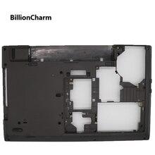 Billioncharm 새로운 오리지널 레노버 씽크 패드 l540 기본 하단 커버 어셈블리 케이스 04x4878 04x4879