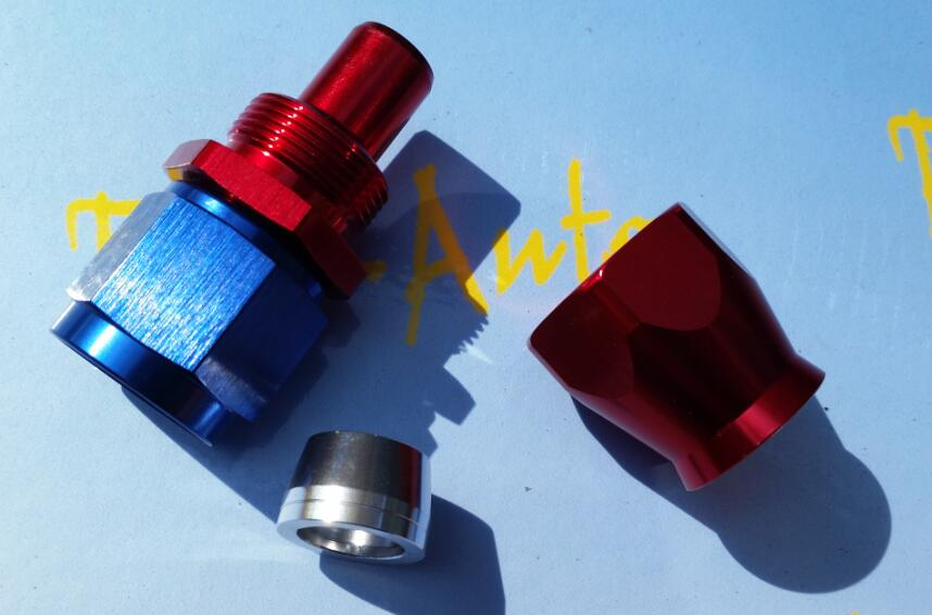 -10an an-10 an10 7/8-14unf rosca recta ptfe teflon manguera giratoria para mk5 mk6 ea888 kits de enfriador de aceite