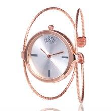 Femmes mode de luxe montre Bracelet Quartz robe montres Rose or petit exquis élégant marque dames horloge décontractée reloj mujer