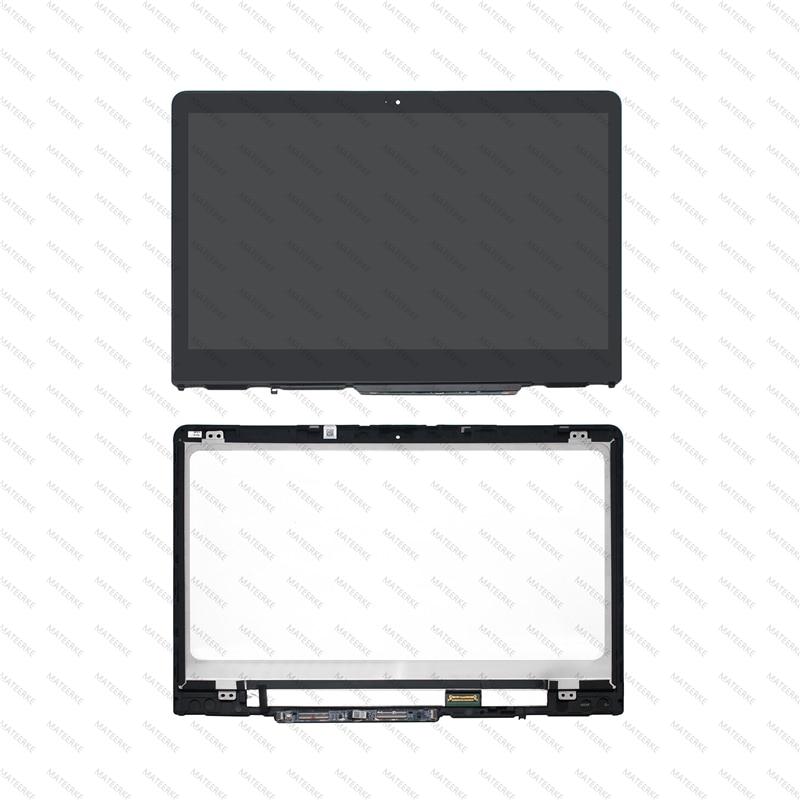 شاشة لمس IPS LCD عالية الدقة ، مع إطار ، لـ HP x360 14-ba135ns 14-ba037ns 14-ba138ns 14-ba140ns 14-ba139ns