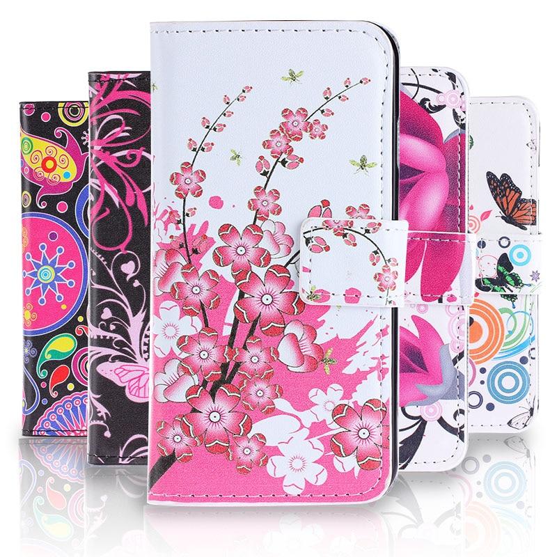 Funda de cuero de dibujos animados a la moda para LG Class LG Zero H740 F620 H650 funda tipo billetera con tarjetero para teléfono caso