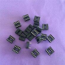 20 PZ ST079Y 8 Pin DIP8 IC Zoccolo Adattatore Solder Tipo di Connettore IC Chip di Base di Alta Qualità In Vendita