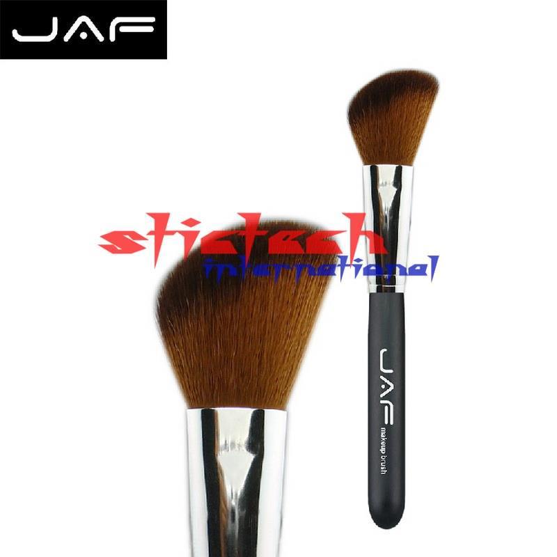 Por ems o dhl 50 Uds JAF cepillo blush Pincel brochas para colorete en polvo natural de pelo pinceles de maquillaje profesional