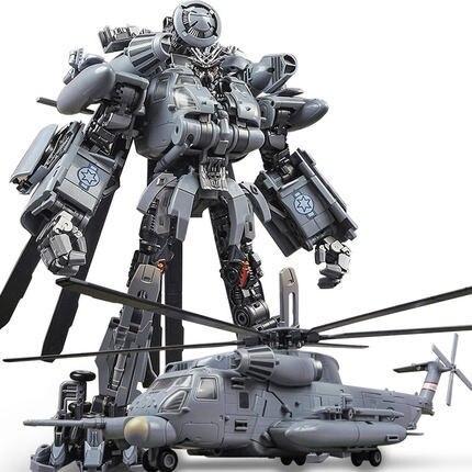 WeiJiang Wei Jiang M05 pelea transformación juguete de gran tamaño KO SS08 ocultar sombra apagón vértigo aleación helicóptero figura de acción