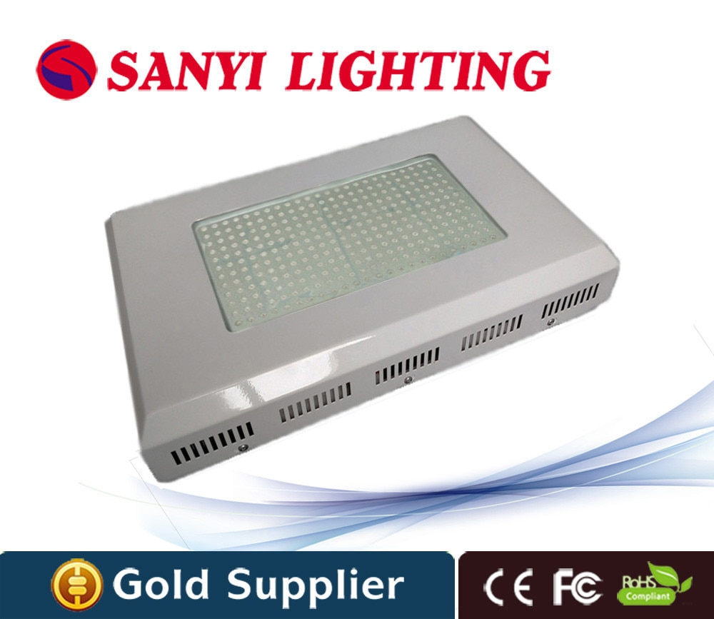 Hidroponía fresa 300 W planta LED crece la luz 288x1 W LED crece la lámpara rojo azul LED planta lámpara para las plantas de interior