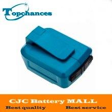 2017 Makita batterie 2 Ports USB chargeur adaptateur pour Makita 18 V 14.4 V BL1415 BL1845 BL1815 BL1830 BL1430 appareils mobiles