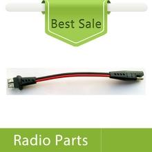 1 x cabo de alimentação para motorola gm3188, gm3688 em dois sentidos rádios acessórios