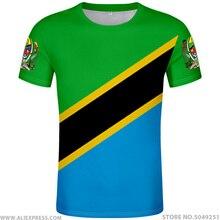 TANZANIA t shirt diy free custom made name number tza T-Shirt nation flag tz tanzanian swahili country print photo text clothing
