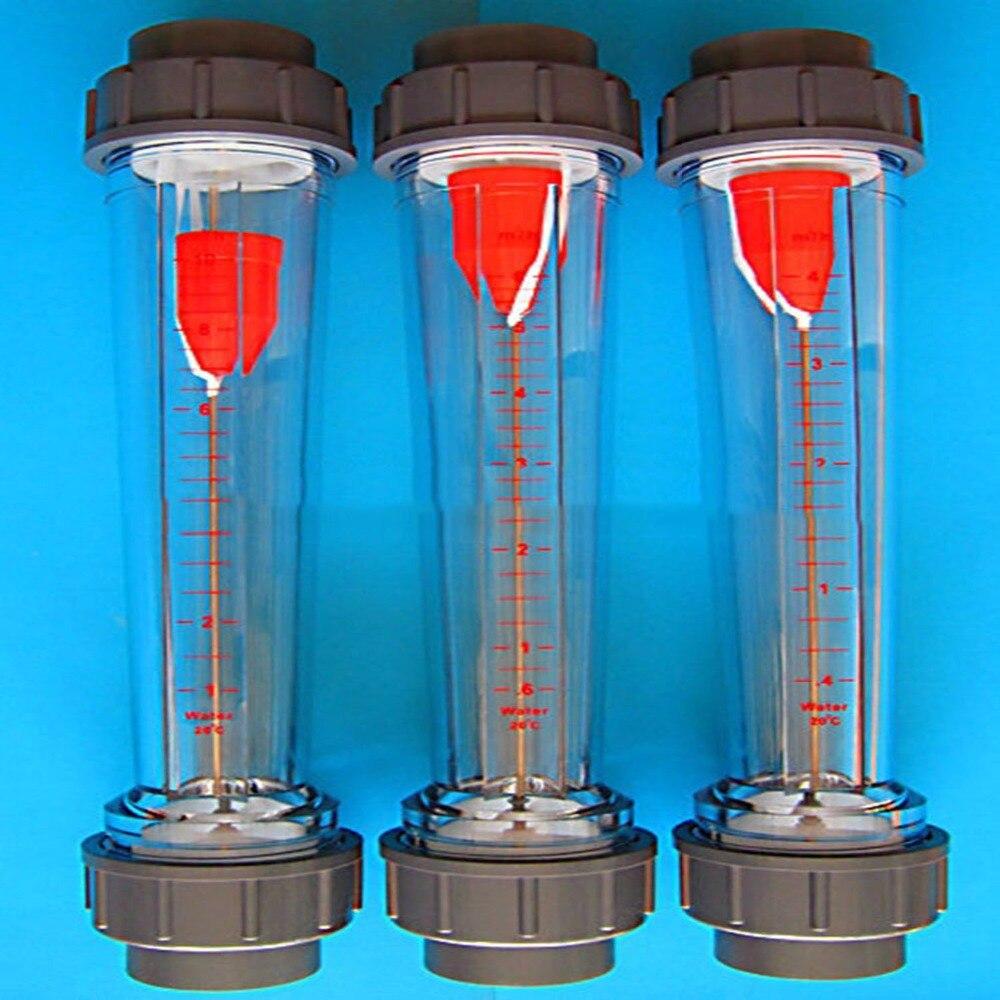 LZS medidor de flujo herramientas de medidor de flujo instrumentos de medición caudalímetros LZS65 tubo de PVC LZS-65 tipo de tubo de plástico rotámetro
