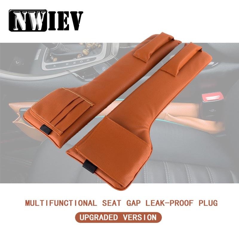 NWIEV, protector para asiento de coche, espacio espaciador, caja de almacenamiento para Abarth Fiat 500 BMW E60 E36 E34 Mercedes Benz W204 Volvo, accesorios de soporte para teléfono