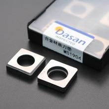 10 pièces MT2204 MS1904 CNC cale en carbure de tungstène MV1603 tour accessoires pour TNMG SNMG carbure