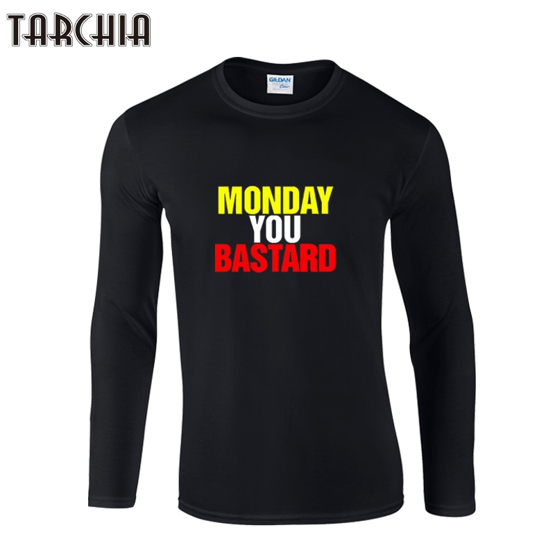 TARCHIA 2021 marca Tops camiseta Fitness manga larga de los hombres el...
