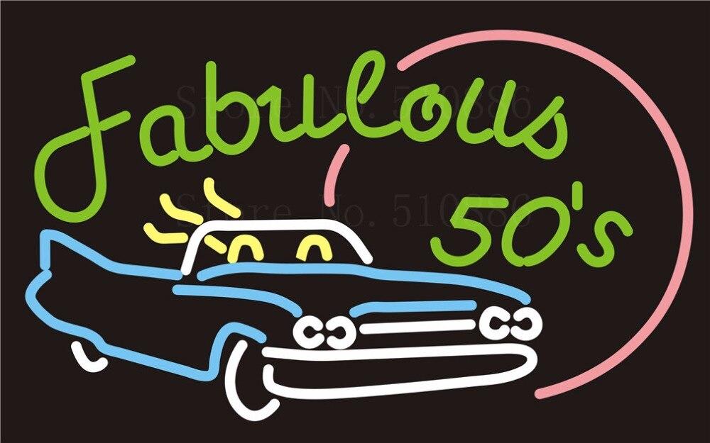 لوحة إشارة نيون شخصية ، أنبوب زجاجي للسيارة ، حفلة ، بار ، نادي ، حانة ، متجر ، لافتة ضوئية ، 17 × 14 بوصة