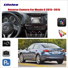 Car Reverse Rear View Camera For Mazda 6 2013 2014 2015 Camera RCA Adapter Connector Connect The Original Factory Screen
