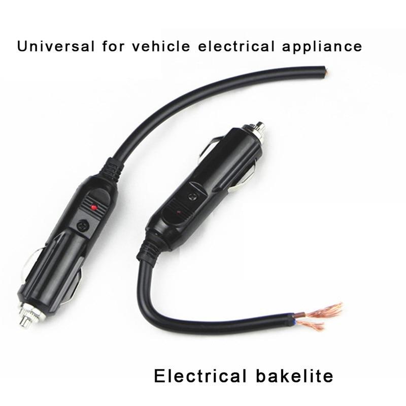Connecteur de prise et allume-cigare 12V/24V   V/24V, allume-cigare avec fusible 20A, électronique automobile