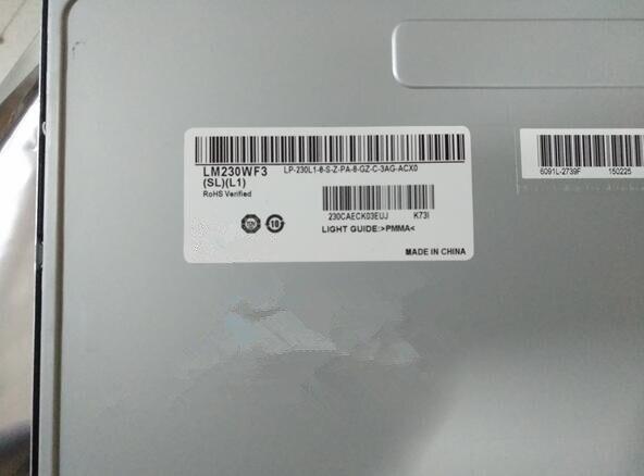 Novo ips23 inch LM230WF3-SLK1 LM230WF3-SLL1 LM230WF3-SLQ1 LM230WF3-SLP1 LM230WF3-SLN1 1920x1080