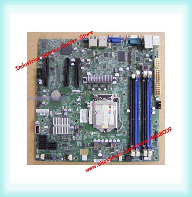 X9SCL-F compatible con E3-1230V2 Placa de servidor simple de plataforma 1155