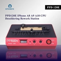 ppd120e phone pcb desoldering rework station for iphone a8 a19 a10 remove welding platform cpu motherboard welding tool