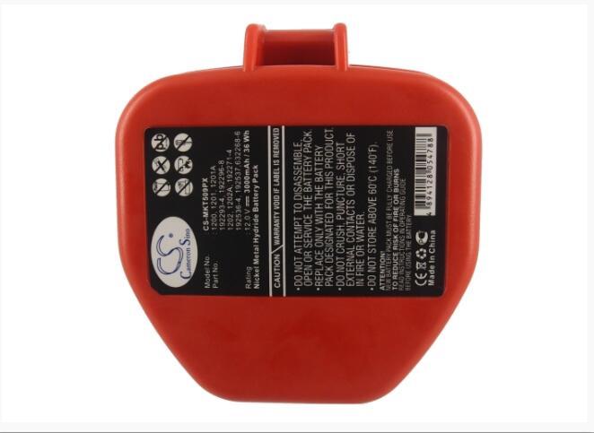Bateria para Makita Cameron Sino 6211dh 6831d 8412dh 8412dwh Hr160d Sc130dwa 1202a 192271-4 3000 Mah 5091d