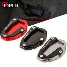 Подножка для мотоцикла, удлиняющая пластина, боковая подставка для Ducati Multistrada 1200 1200S 1200GT Monster 696 796 821 1200