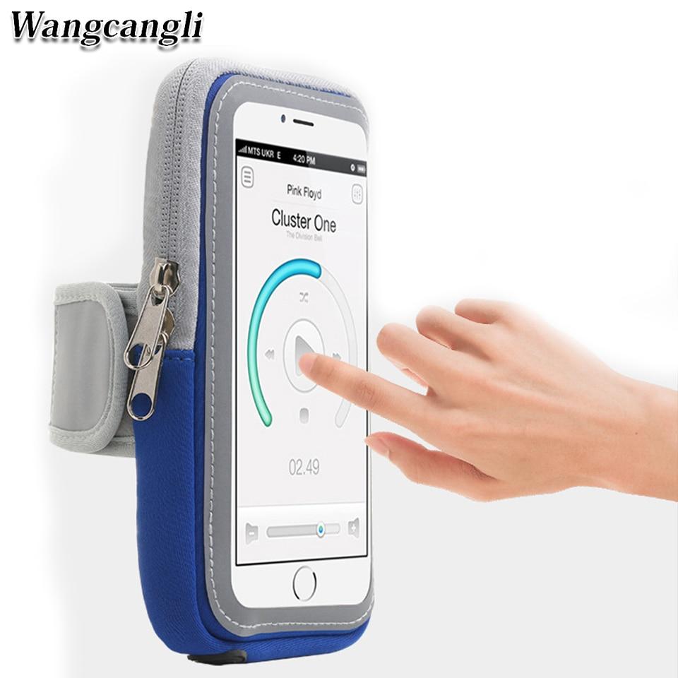 Funda de banda de brazo para teléfono móvil para correr soporte de banda de brazo del teléfono en la funda del brazo para bolsa de brazo universal de 4-6 pulgadas