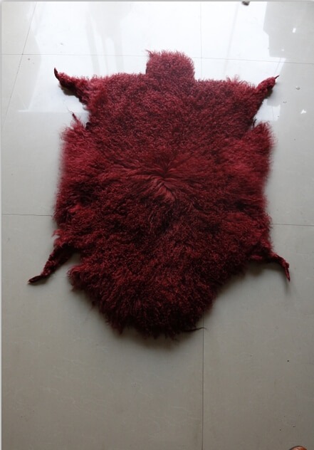 Venta al por mayor de la fábrica Austrralian curtido piel de oveja/de piel de oveja de venta al por mayor