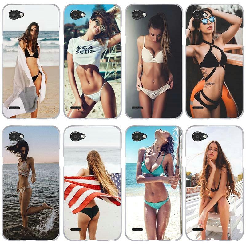 Пляжные бикини, сексуальные мягкие чехлы для LG V10 V20 V30 G2 G3 Mini G4 G5 G6 K4 K7 K8 K10 2017 Nexus 5 5X сумка