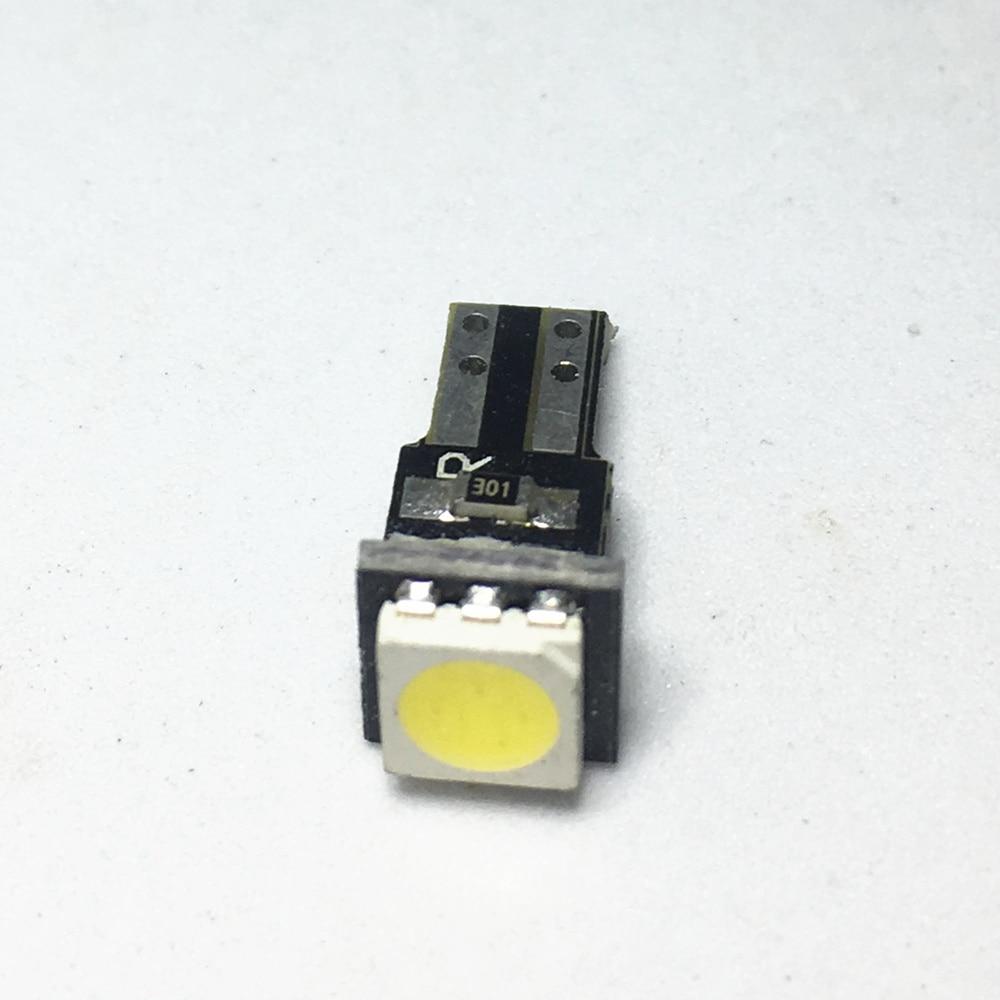 1 stks Keramische Dashboard Gauge Instrument Keramische T5 Led 1SMD 5050 Car Auto Side Wedge Licht Auto Interieur Lamp DC 12 v Licht