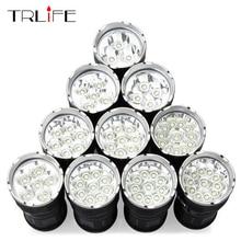 Powerful LED Flashlight 14 T6 Camping Light Outdoor Lighting Lamp Waterproof Floodlight Lantern Hunting by 4*18650