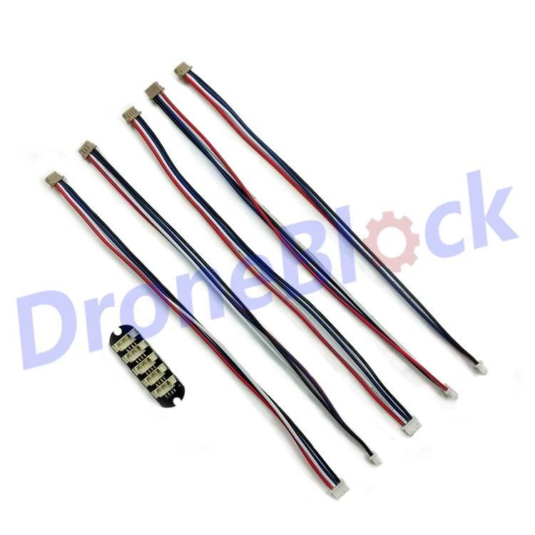 Pixhawk I2C divisor I2C junta de unión hub ampliar accesorios del módulo con cables