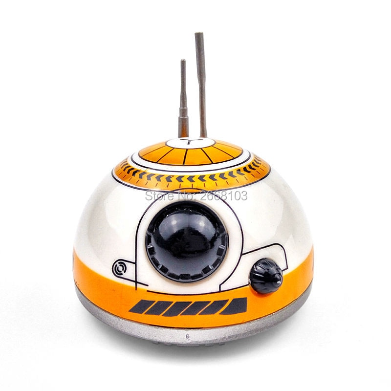 New Version Upgrade Model Ball RC BB-8 Droid Robot BB8 Intelligent Robot 2.4G Remote Control Toy For Girl Gift With Sound Action enlarge