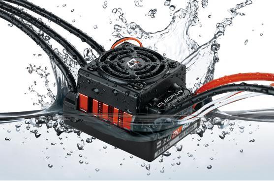 HOBBYWING QUICRUN WP10BL60 60A Sensored Motor sin escobillas velocidad ESC controlador 1/8th coches de turismo/cochecitos/camiones/camión monstruo