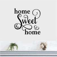 Autocollants muraux en vinyle pour chambre a coucher et salon  citations amovibles  decoration interieure  sparadrap dart  pour la maison  Z477