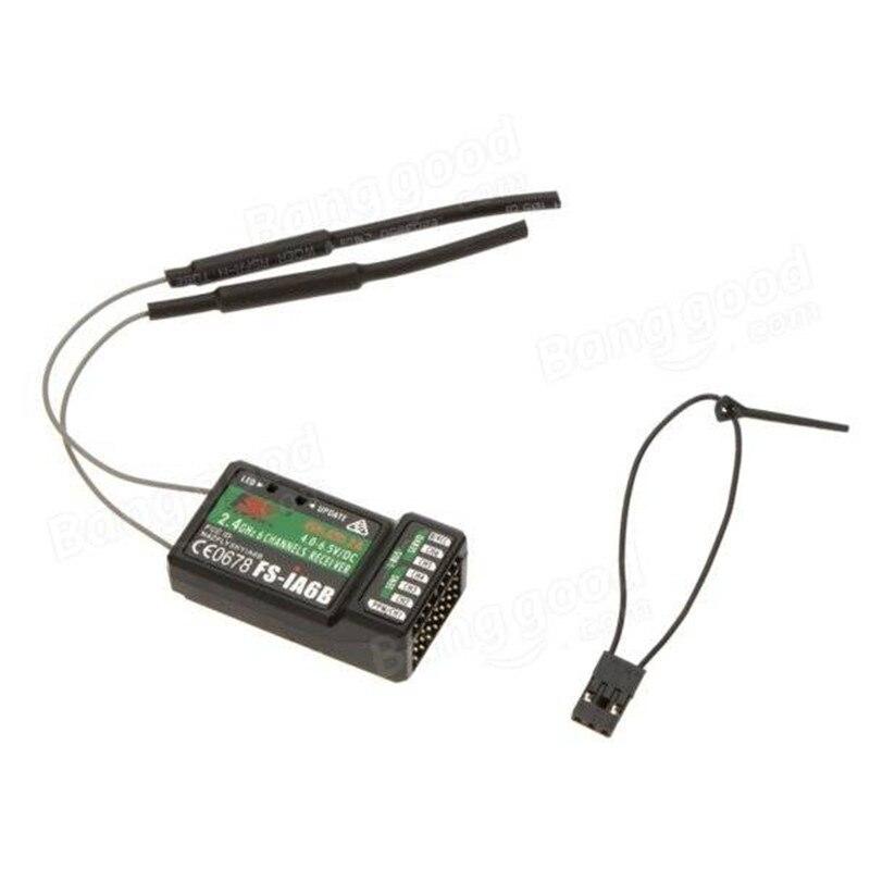 2.4G Flysky 6CH FS-iA6B iA6B מקלט PPM פלט עם iBus יציאת תואם עם Flysky i4 i6 i10 i6s משדר FS-i4 FS-i6x