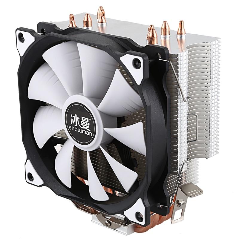 ثلج وحدة المعالجة المركزية برودة ماستر 5 مباشرة الاتصال Heatpipes تجميد برج التبريد نظام وحدة المعالجة المركزية تبريد مروحة مع PWM المشجعين