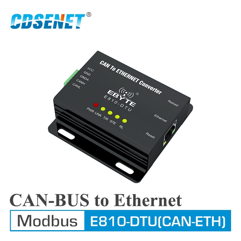 2pc lot e810 485 u01 ch340 usb rs485 test board for uart wireless serial port modem E810-DTU(CAN-ETH) CAN Bus Ethernet Transparent Transmission Modbus Protocal Serial Port Wireless Transceiver Modem