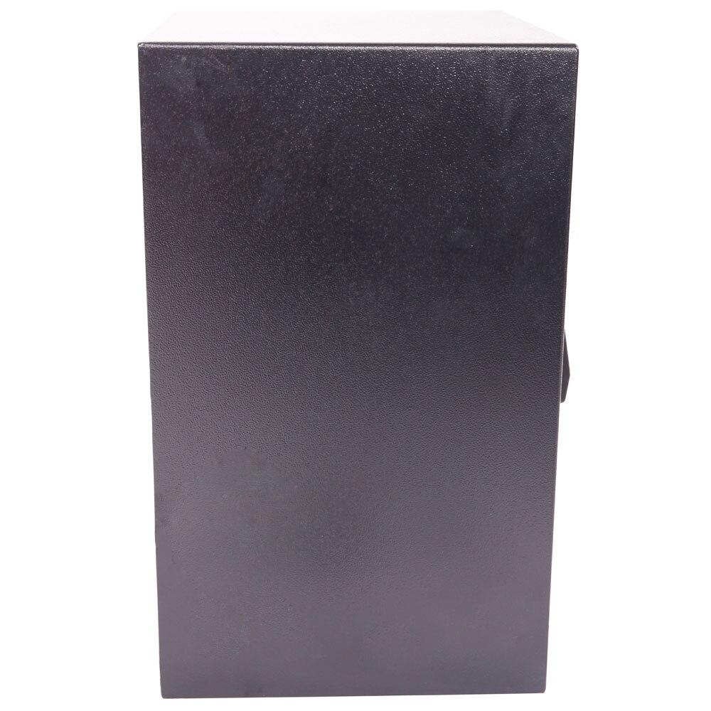 E50EA-خزنة ألومنيوم ، كلمة مرور إلكترونية ، صندوق أمان ، استخدام منزلي ، أسود