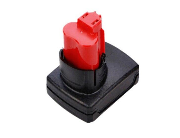 12 v M12 3500 mah Li-ion Outils Électriques Sans Fil Batterie pour Milwaukee 12 Vlot 48-11-2402 48-11-2440 XC LIVRAISON P & P