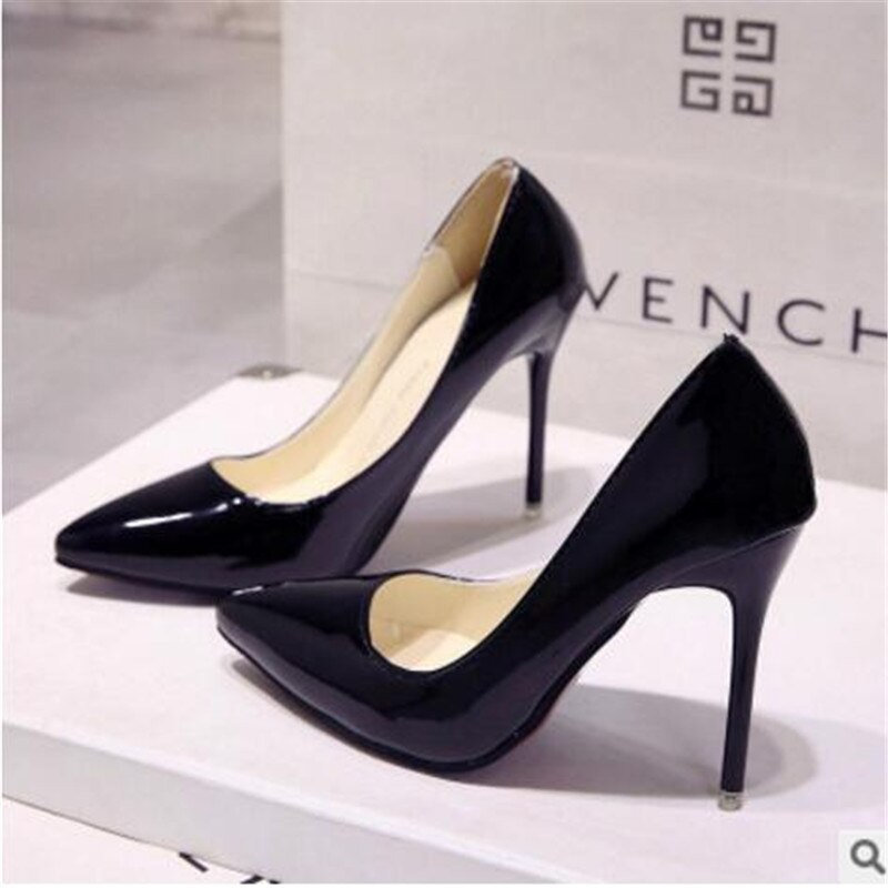 HOT Promotions Women Pumps Spring/Autumn High heels Pointed Toe Female Wedding Shoes Sexy Heel shoes for women