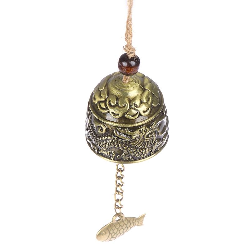 1 шт. подвесной колокольчик дракон/рыба фэн шуй благословение удача Ловцы снов и