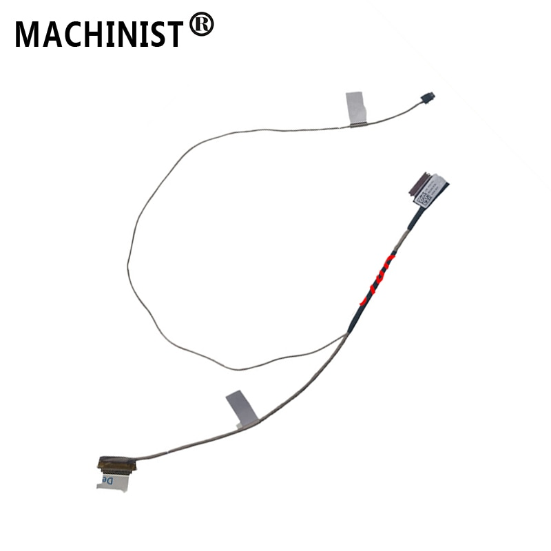 Cable flexible de pantalla de vídeo para DELL VOSTRO 5370 Inspiron 13-5370 5000 V5370 cable de cinta de pantalla LED LVDS LCD para ordenador portátil 0D974D