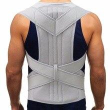 2019 orthèse soutien dos épaule lisseur ceinture Corset haut du dos soulagement de la douleur Posture correcteur sangle cervicale colonne vertébrale ceinture