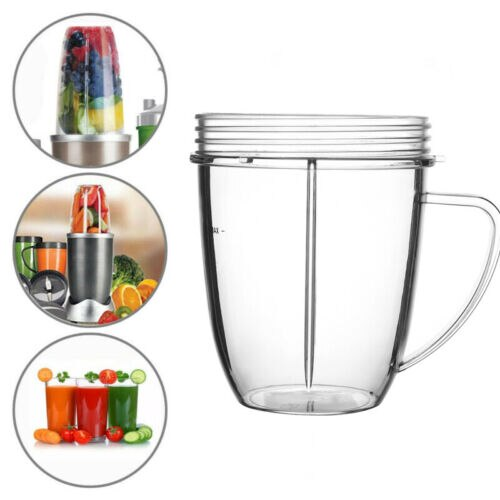 18 OZ taza de jugo de taza de reemplazo claro para Nutribullet 600 900 w repuesto taza