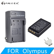 1Pc PALO 2000mAh BLS-5 BLS5 Bls50 batterie + chargeur LED pour Olympus OM-D E-M10, Mark III, Mark II, stylo E-PL2, E-PL6, E-PM2, stylet 1